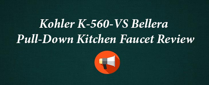 Kohler K-560-VS Pull Down Kitchen Faucet Review
