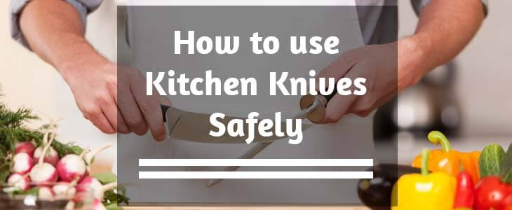 how to hold a knife safely